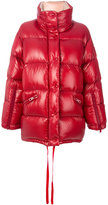 Moncler Callis oversized jacket - women - Polyamide/Goose Down - 0