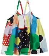 Stella McCartney Kids' Emmeline Abstract-Print Cotton Voile Blouse