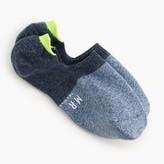 J.Crew Mr. GrayTM two-tone loafer socks