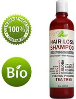Honeydew Best Hair Loss Shampoo Potent Hair Loss Fighting Formula 100% Natural Topical Regrowth Treatment Restores Hair Stops Hair Shedding Contains Biotin Rosemary Coconut Oil For Women and Men