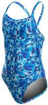 Speedo Youth Optical Burst Flyback One Piece Swimsuit 8138469