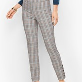 Talbots Chatham Button-Hem Ankle Pants - MacIntosh Plaid