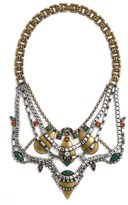 Lionette by Noa Sade Women's 'Shemesh' Simulated Opal & Swarovski Crystal Statement Necklace