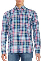 Tommy Bahama Romario Plaid Linen Sportshirt