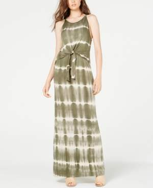 Ultra Flirt Juniors' Tie-Dye Maxi Dress