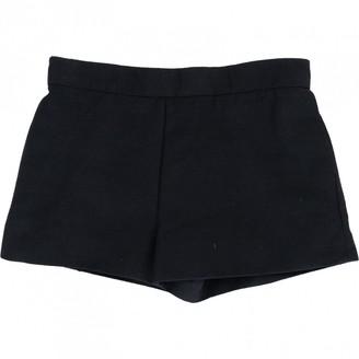 Balenciaga Black Shorts for Women