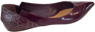 Chloé Purple Patent leather Ballet flats