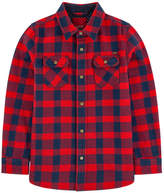 Scotch & Soda Checked flannel shirt
