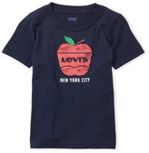Levi's Toddler Boys) Short Sleeve Big Apple Logo Tee