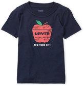 Levi's Toddler Boys) Short Sleeve Big Apple Logo Tee