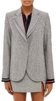 Topshop Women's Fontana Wool Blend Blazer