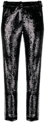 Balmain sequinned trousers