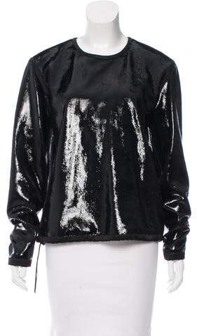Tom Ford Textured Leather Top w/ Tags