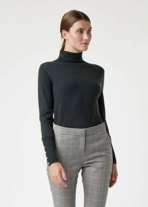 Hobbs Lara Roll Merino Wool Neck