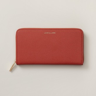 Love & Lore Love And Lore Ava Wallet Red