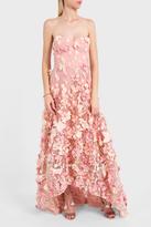 Marchesa Strapless Gown
