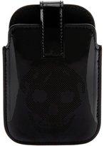 Alexander McQueen perforated skull Blackberry case