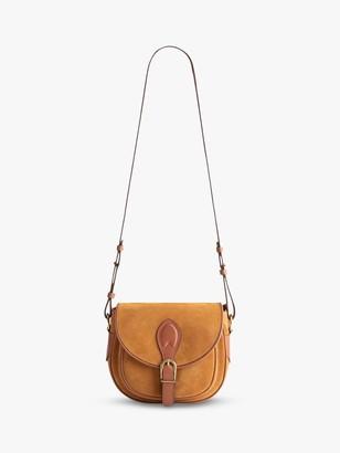 Gerard Darel Gypsy Suede Leather Saddle Bag