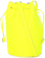 Baggu The Leather Purse in Neon