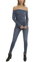 RtA Lucienne Off The Shoulder Jumpsuit