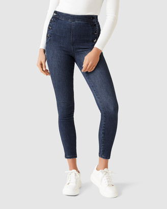 Forever New Sasha High Rise Ankle Grazer Jeans