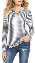 Roxy Wanted And Wild Striped Long Sleeve Hoodie