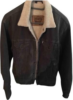Levi's Grey Velvet Jackets