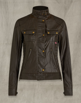 Belstaff Gangster Jacket Brown UK 4 /