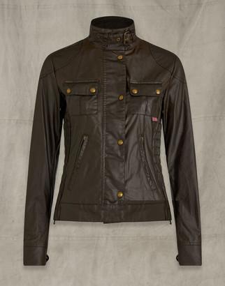 Belstaff Gangster Jacket Brown UK 4 /