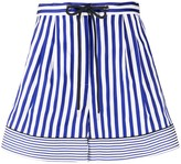 Tommy Hilfiger Striped Wide-Leg Shorts