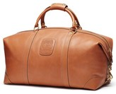 Ghurka Men's Cavalier Ii Leather Duffel Bag - Beige