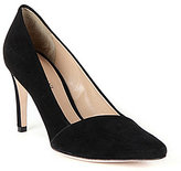 Antonio Melani Clarete Pointed-Toe Suede Slip-On Pumps