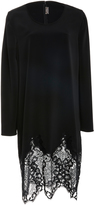 Alexis Mabille Long Sleeve Lace Detailed Dress