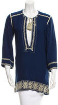Etoile Isabel Marant Embroidered Long Sleeve Tunic w/ Tags