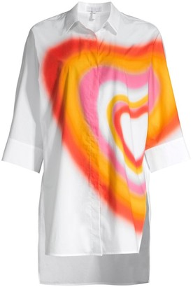 Escada Sport Ombre Heart Tunic