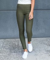 Contagious Women's Jeggings Olive - Olive Jeggings - Women