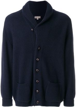 N.Peal Kensington button front cardigan