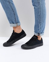 Converse Chuck Taylor All Star ox black monochrome sneakers