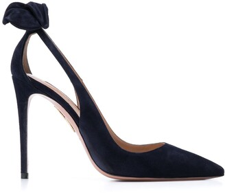 Aquazzura 105mm Bow Tie Pumps