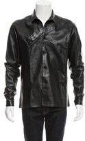 Christian Dior Nappa Leather Shirt