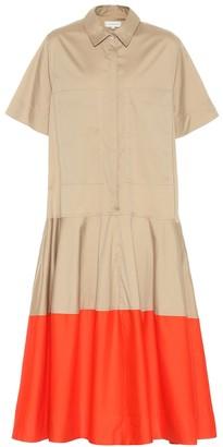 Lee Mathews Elsie cotton-blend shirt dress