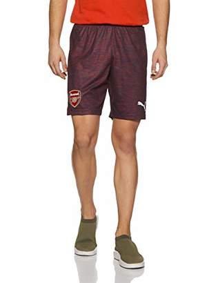 Puma Men's Arsenal FC Short Replica with Inner Slip Trouser,S