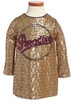 Little Marc Jacobs Toddler Girl's Paradise Sequin Shift Dress