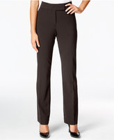 JM Collection Curvy-Fit Straight-Leg Pants, Only at Macy's
