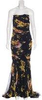 Dolce & Gabbana Draped Silk Gown