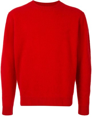 Coohem Textured Crew Neck Sweater