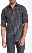 John Varvatos Collection Plaid Long Sleeve Shirt