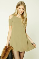 Forever 21 Open-Shoulder Swing Dress