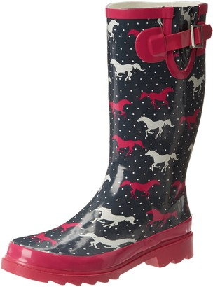Western Chief Women's Horse Sprint Rain Boot