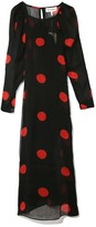 Mara Hoffman Elisabetta Dress in Black/Red